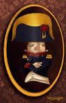 Napoleon oval portrait