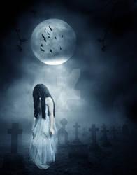 Ghost of Halloween Past by MBHenriksen