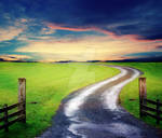 Premade Summer Road