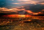 Premade Sunset Scene