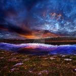 Peaceful Storm by MBHenriksen