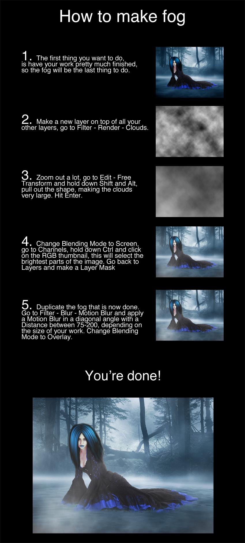 Tutorial - How to make fog