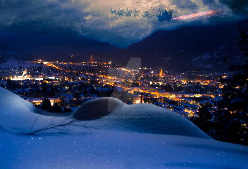 Christmas Night by MBHenriksen