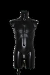 Black Male Mannequin Cutout Stock by MBHenriksen