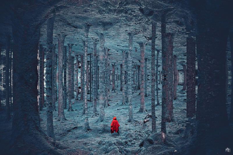Lost Little Red by MBHenriksen