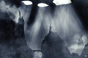 Dark Towers Below by MBHenriksen