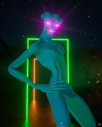 Sassy Alien