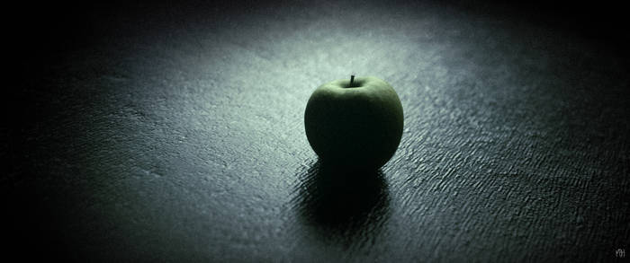 The Apple in the Vanishing Cabinet