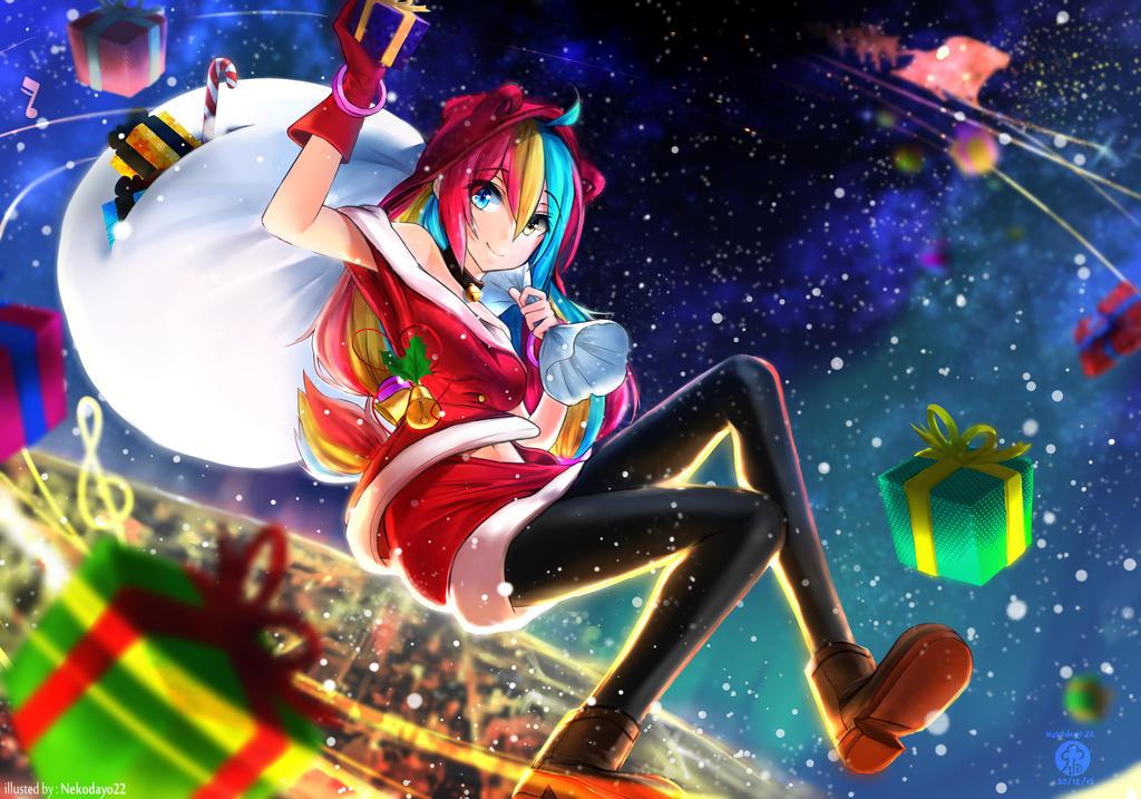 Picarto Christmas contest by Nekodayo22