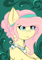 Lady Fluttershy by RoyalTale
