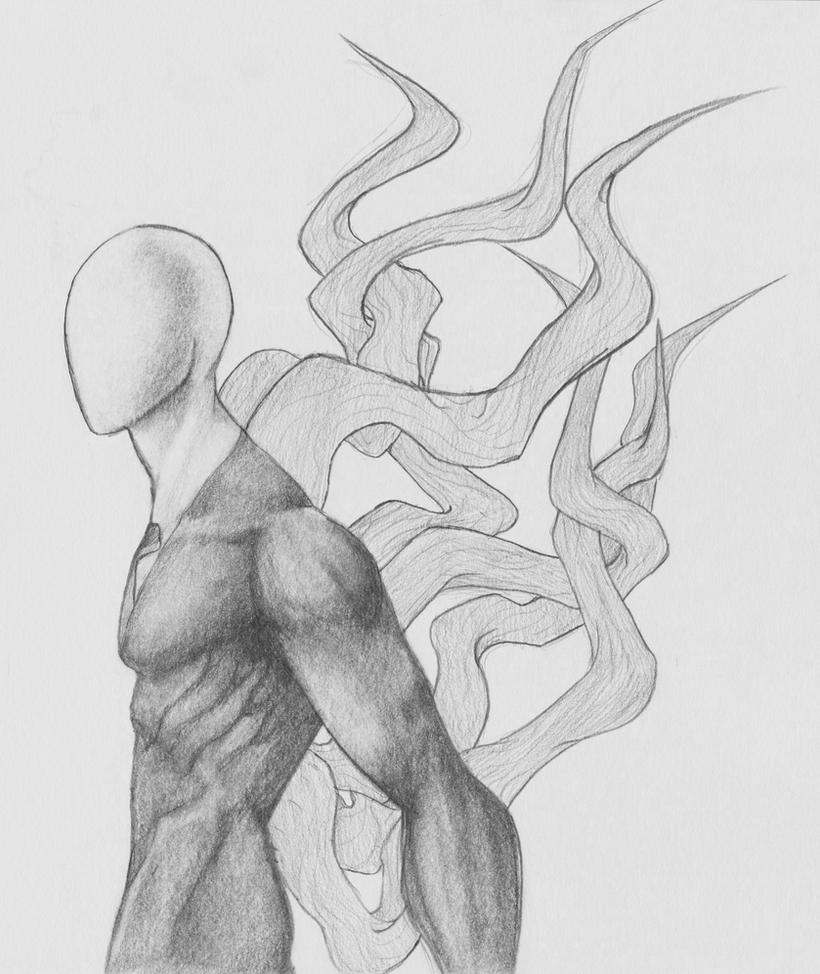 Slender man by MobsterQueenPin