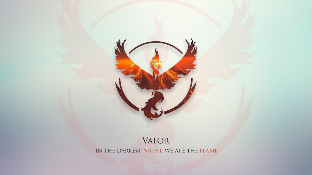 Pokemon Go Team Valor Wallpaper And Quote By CriisAngelB