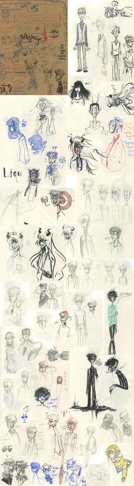 Sketchdump 1 by Crayn