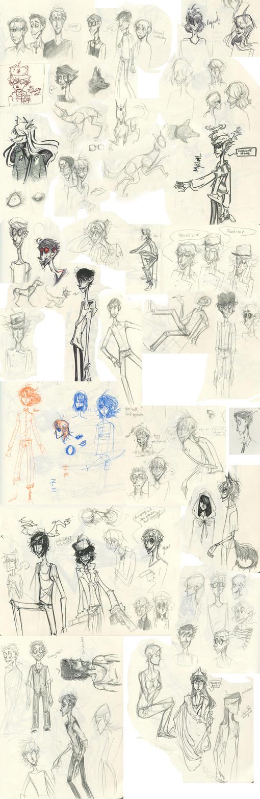 Sketchdump 2 by Crayn