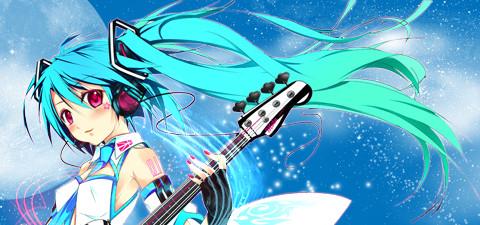 Miku Hatsune - Rhythmixer sig by THD-nyb