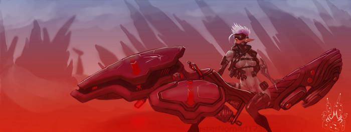Amazon Rider Sci Fi Series 01