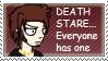 Death Stare stamp by Lyozan