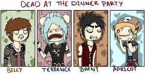 Dead at the dinner party