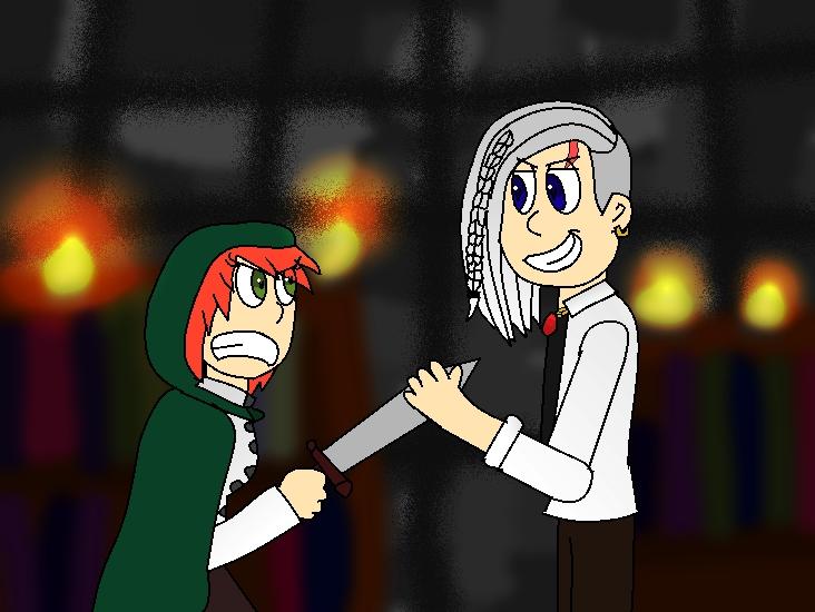 Aldora vs Birk by CrazyShadowGirl