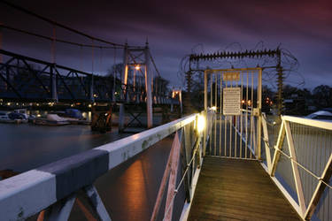 Feltham bridge in colour by Rephilloution
