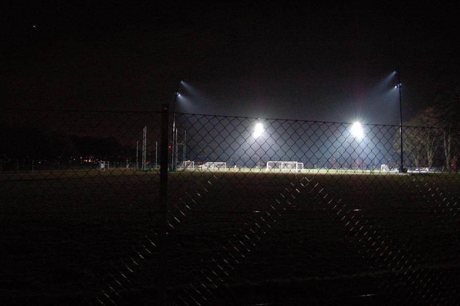 Soccer field at night by CreativeSparkStudios on deviantART