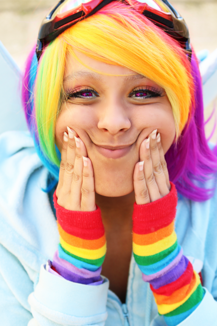 RainbowDash: Squishy Face!! by Awesome-Vivi