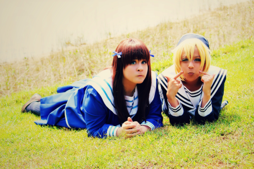 Fruits Basket Cosplay: Happy Go Lucky by Awesome-Vivi on ...