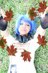 MlP Vinyl Scratch Cosplay: Falling Leaves