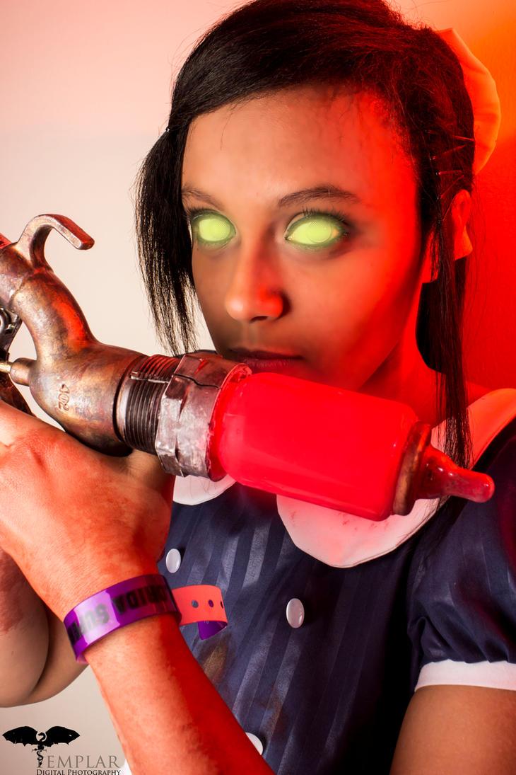 Bioshock cosplay: ADAM by Awesome-Vivi