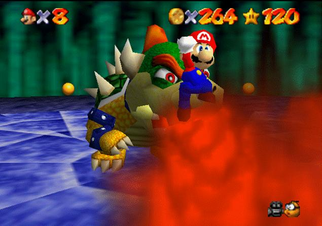 Mario Vs Bowser by Mario64Luigi