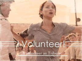 I Volunteer by BooksandCoffee007
