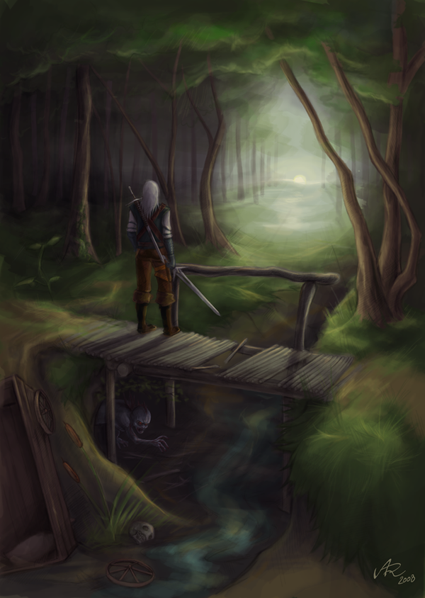 The Witcher: Night is coming by Anyarr