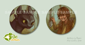 HTTYD: Buttons
