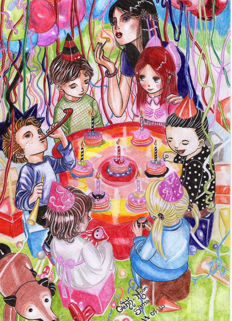 Pancake in my birthday. by gabi-raposa