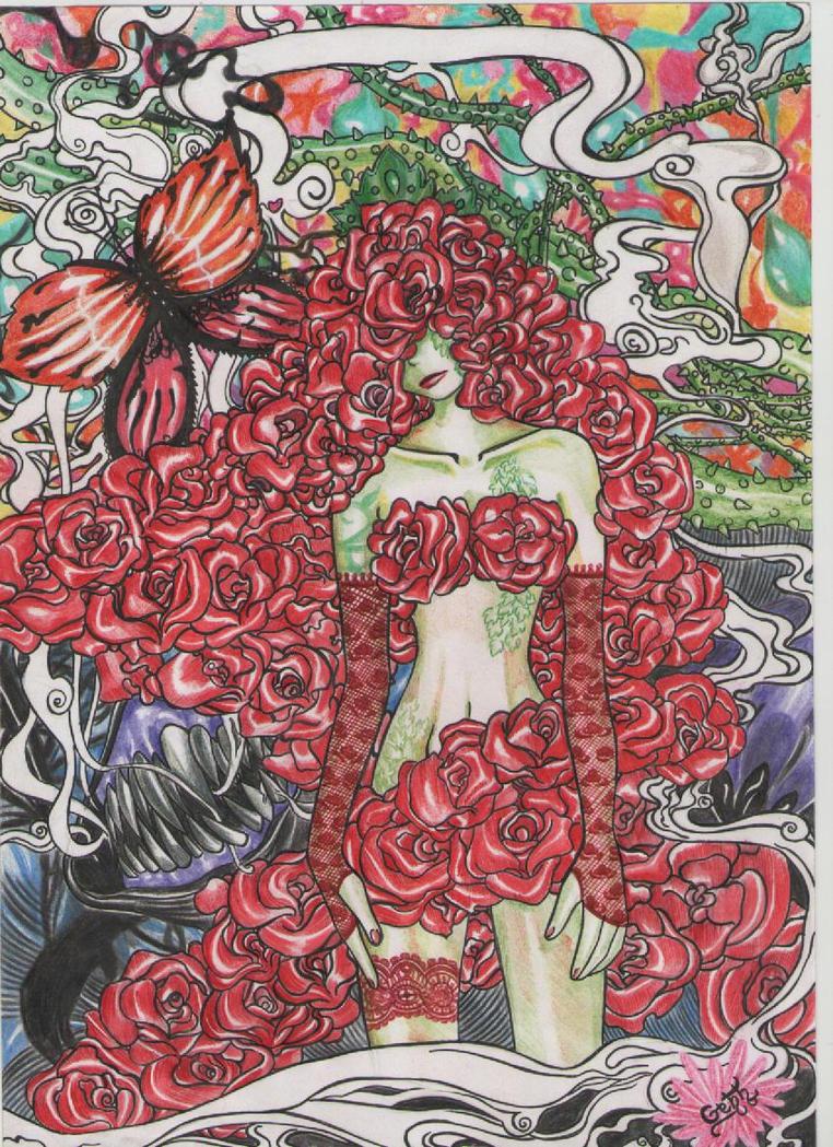Miss Rose by gabi-raposa