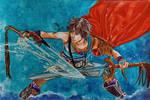 Bartz - Final Fantasy 5 / Dissidia by gabi-raposa