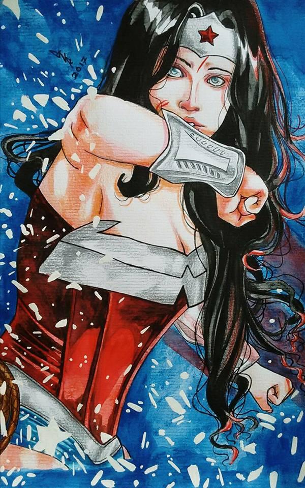 Wonder Woman by gabi-raposa