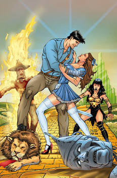 Xena- Army of Darkness cover C