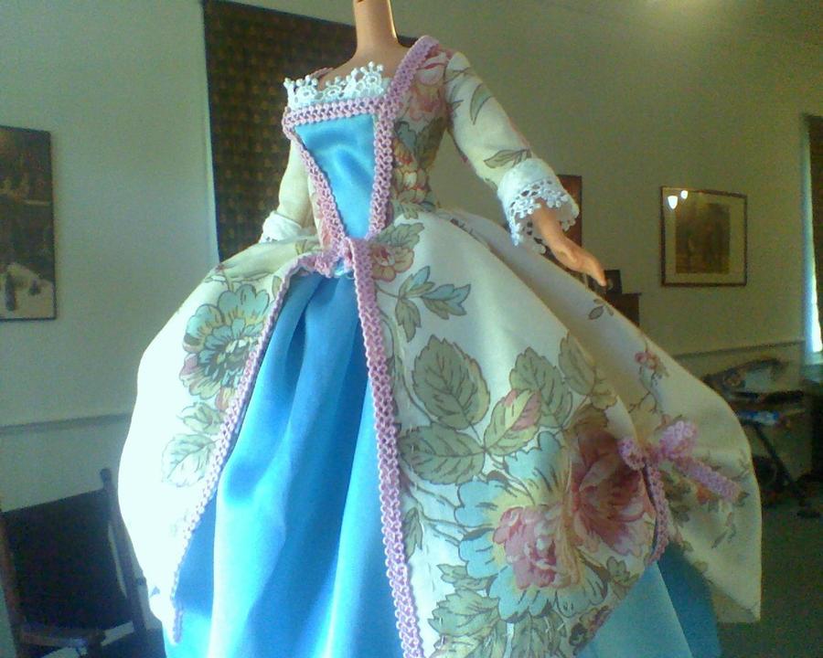 Barbie - Colonial Gown by CissyPureblood on DeviantArt