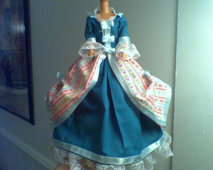 Barbie - Colonial Gown 2 by CissyPureblood on DeviantArt