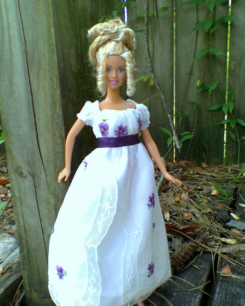 Barbie Regency Gown by CissyPureblood on DeviantArt