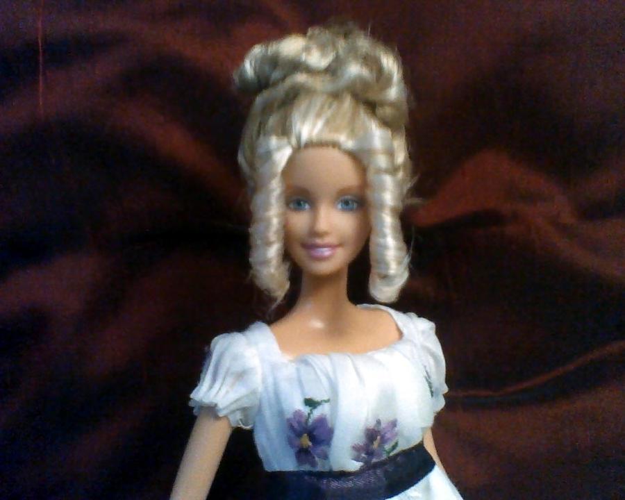 Barbie hairstyle by cissypureblood on deviantart