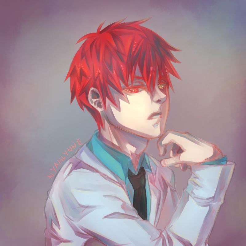 Akashi portrait by nyanlynne
