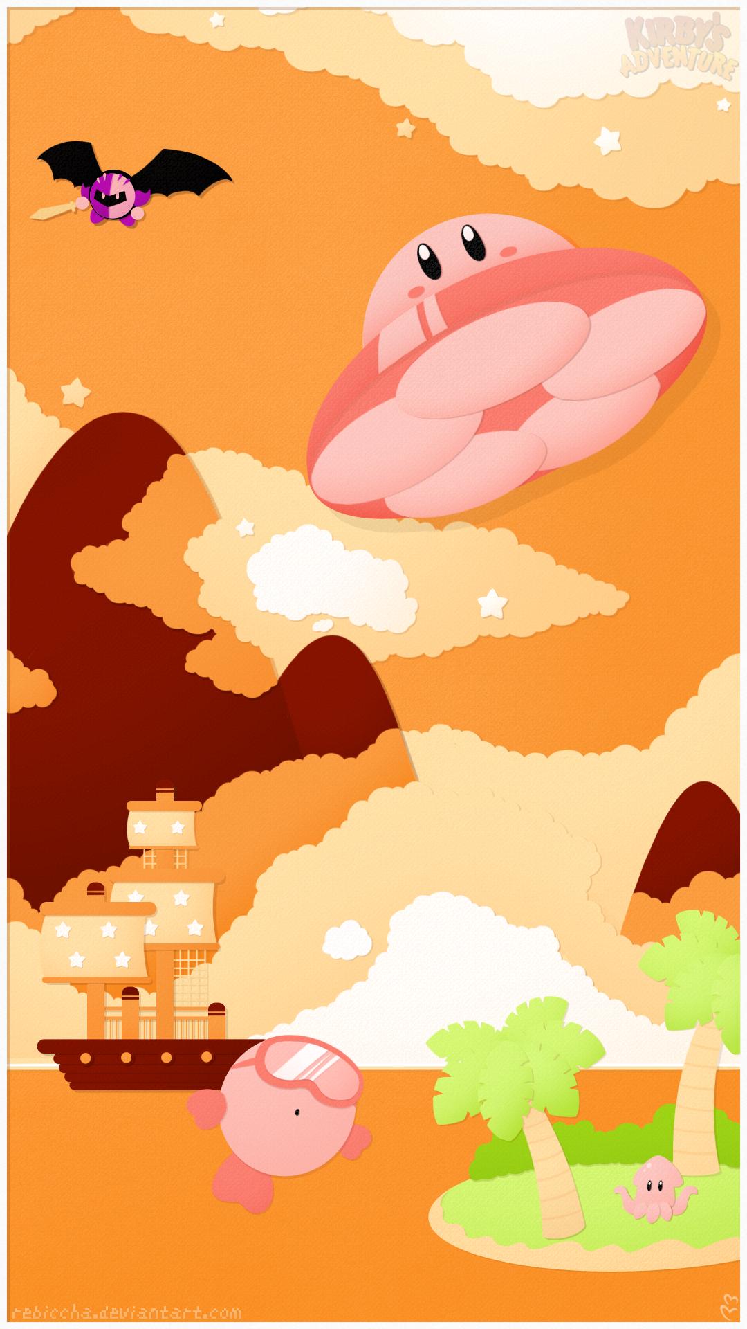 The Skies of Dream Land: Orange Ocean by Riiao