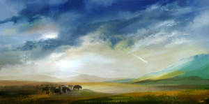 Landscape Speedpaint #6