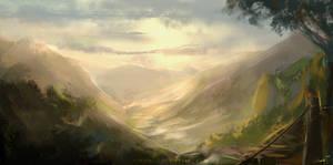 Landscape Speedpaint #10