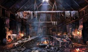 The Witcher 3 Wild Hunt Tavern by Scratcherpen