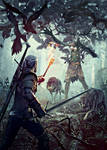 The Witcher 3 Wild Hunt Leshen Cover2