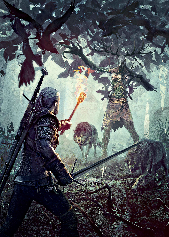 The Witcher 3 Wild Hunt Leshen Cover2 By Scratcherpen On Deviantart