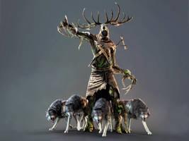 The Witcher 3 Wild Hunt Leshen by Scratcherpen